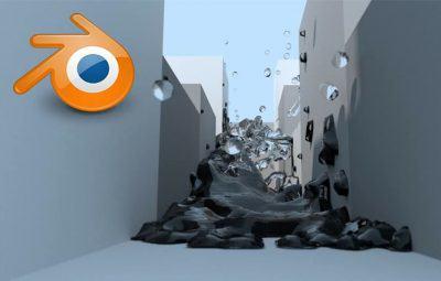 Criando um Oceano no Blender 3D