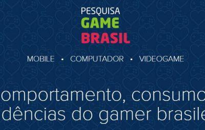 Mercado de Games: Pesquisa Game Brasil