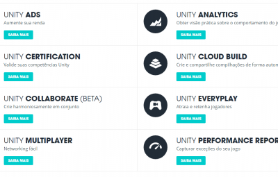 Artigo: Conheça os serviços do Unity3D