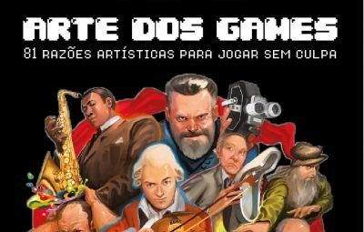 """Dicas da Semana: Livro """"Arte dos Games"""""""
