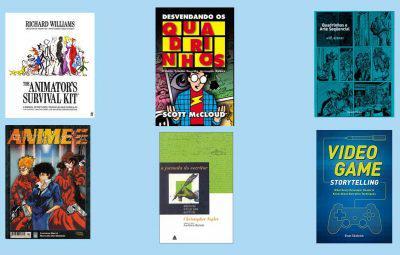 Youtube: 6 Livros para Roteiro de Jogos