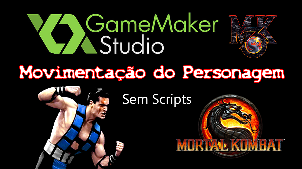 Youtube: Mortal Kombat – Movimentação do Personagem Sub-Zero no GameMaker