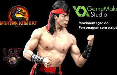 Youtube: Mortal Kombat – Movimentação do Personagem Liu Kang no GameMaker