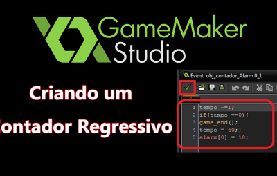 Tutorial: GameMaker – Criando um Contador Regressivo