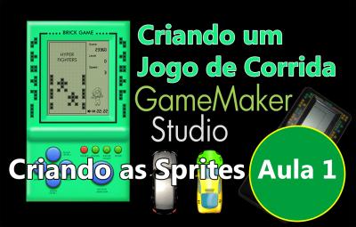 Youtube: Criando um Jogo de Corrida no GameMaker #AULA1