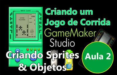 Youtube: Criando um Jogo de Corrida no GameMaker #AULA2