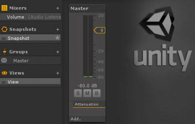 Tutorial: Criando o controle de volume no Unity