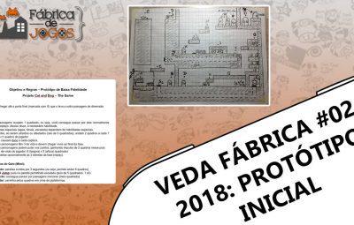 VEDA Fábrica 2018 #02 – Prototipagem de Baixa Fidelidade… E lá vamos nós