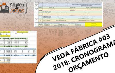 VEDA Fábrica 2018 #03 – Cronograma, Orçamento e High Concept – The End?