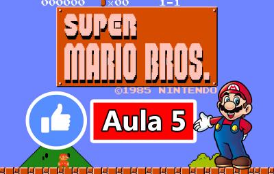 Youtube: Criando o Jogo do Super Mario Bros no GameMaker #AULA5