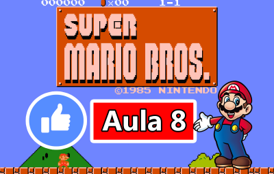 Youtube: Criando o Jogo do Super Mario Bros no GameMaker #AULA8
