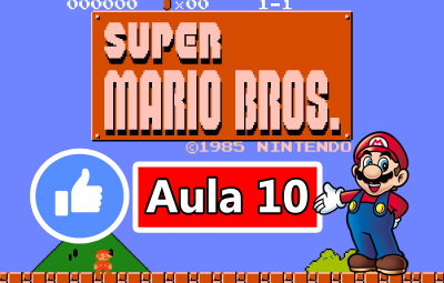 Youtube: Criando o Jogo do Super Mario Bros no GameMaker #AULA10