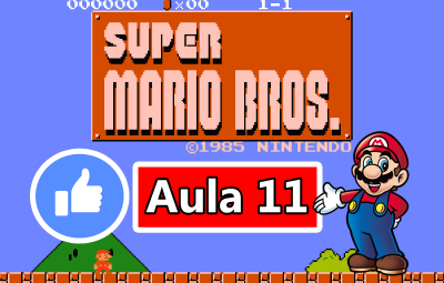 Youtube: Criando o Jogo do Super Mario Bros no GameMaker #AULA11