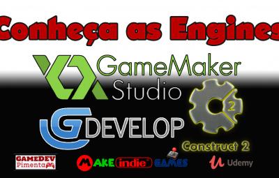 Curso | Conheça as Engines: GDevelop, Game Maker Studio e Construct 2