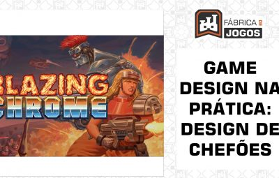 Game Design na Prática: Design de Chefões (Blazing Chrome)