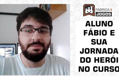 Fábio fala da sua Jornada do Herói no Curso Game Script Journey para Roteiro de Jogos
