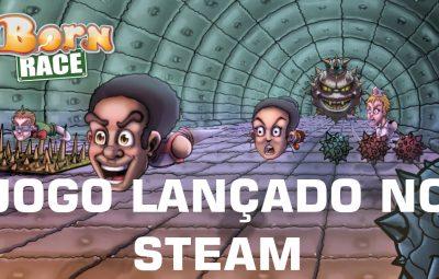 O Meu Jogo Born Race está Lançado no Steam – Aproveite a Promoção de Lançamento