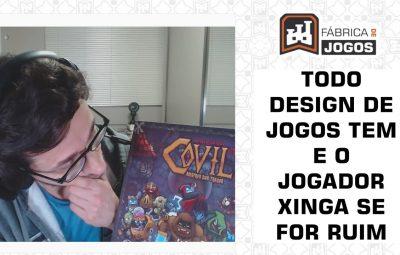 O que Todo Design de Jogos Tem e o Jogador vai te Xingar se for Ruim