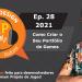 Podcast Game Design XP: Episódio 28 2021: Como Criar o Seu Portfólio de Jogos?